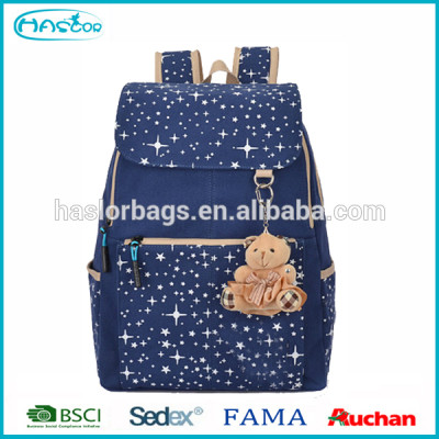 2015 Summer Wholesale Popular Fashion School Backpack, Korean School Bag