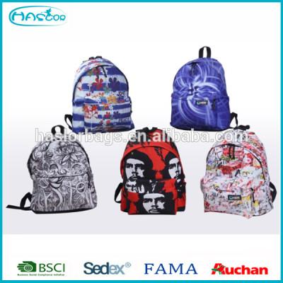Wholesale factory fashion teens school bag 2015