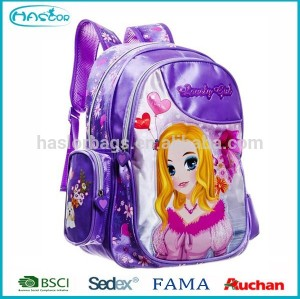 2015 Hot selling fashion kids school children backpack