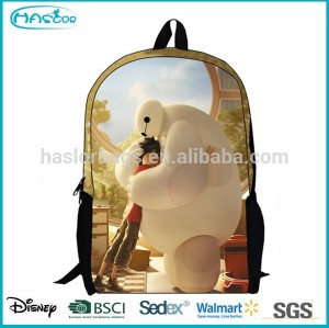 2015 Hotselling Kids Cute Cartoon Picture Of School Bag