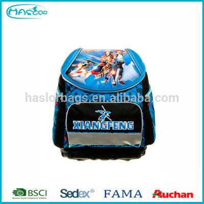 2016 new design good quality 3D school bag for boys