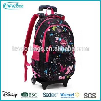 2015 les plus populaires sac trolley backpack école