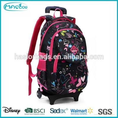 2015 most popular bag trolley school backpack