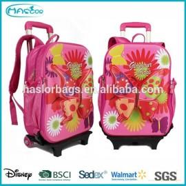 Motif papillon chariot sac à dos pour l'école
