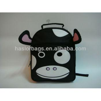Noir couleur vache laitière Hot sac à dos