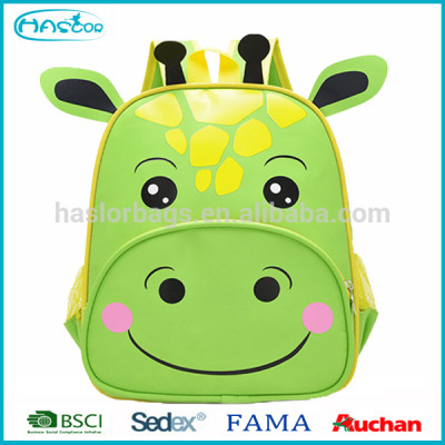 Manufacturer Wholesae Animal Cow Cartoon School Bag Children