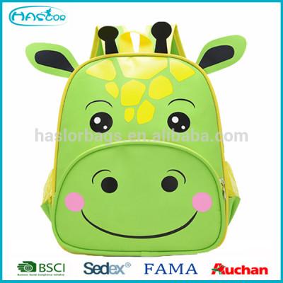Manufacturer Wholesae Animal Cow Cartoon School Bag Children