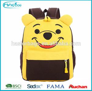 Wholesale Cute Canvas Kids Cartoon School Bag