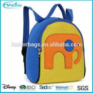Cute cartoon animal design with waterproof material kids school bags for sale