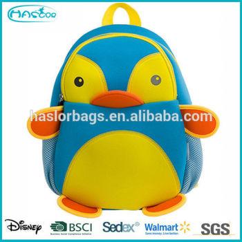 2015 Adorable hot vente enfants sac à dos animal pour la maternelle