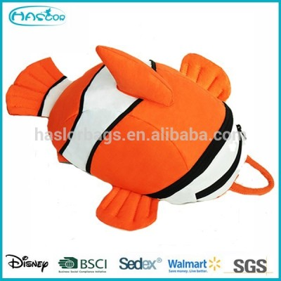Cute Animal Special Style 3D Kids Fish Backpack,Preschool Small Baby Backpack