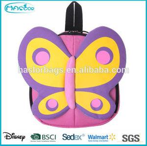 2015 Latest wholeasle cartoon pattern cute waterproof backpacks for kindergarten