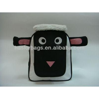 Black Colour Cute Animal Shaped Black Kids Bag