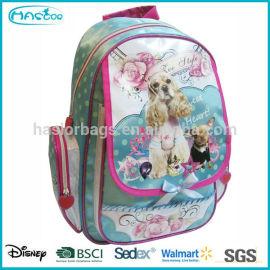 2014 nouveau Design gros mode enfants sac d'école de chien sac à dos pour enfants