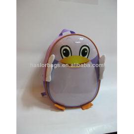 Mode mignon sac à dos école maternelle les enfants en PVC forme animale sac fabricant