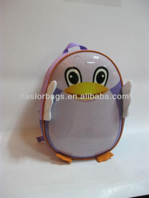 Fashion Cute Kindergarten Kids Backpack School Bag in PVC Animal Shape Bag Manufacturer