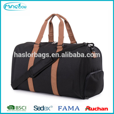 High quality duffle sports bag with shoe compartment