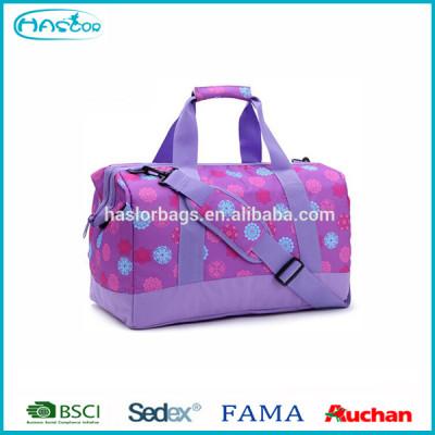 Fashionable zipper totes pattern sports bag