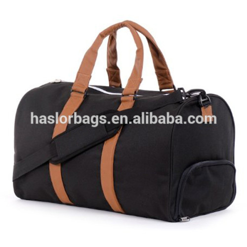 Sport bag With Shoe Compartment And Water Holder, Wholesale Gym Bag