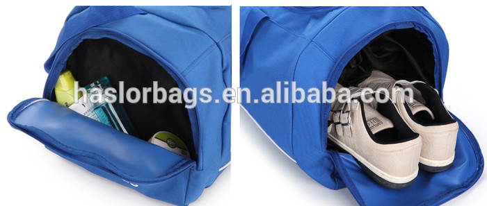 Branded design cheap fashion small gym bag with logo