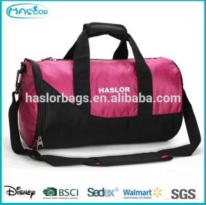 2015 sport duffel gym bag for basketball and shoe