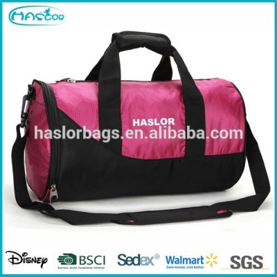 2015 sport duffel gym bag for basketball and shoe