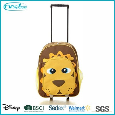 Fashion kids school bags with trolley