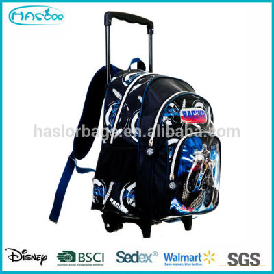 Qualtiy Teenage School Trolley Bag and Backpack New Product 2014