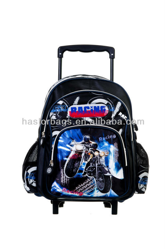 Qualtiy Teenage School Trolley Bag and Backpack New Product 2014