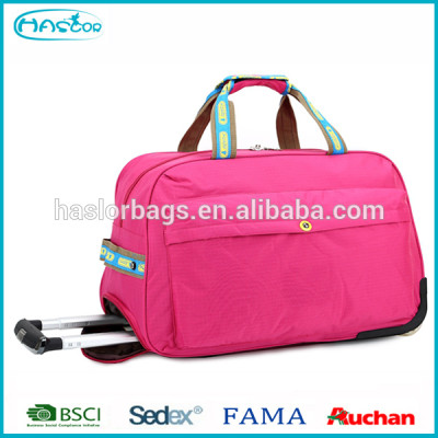 Haslor Wholesale Hot New Products Large Travel Trolley Bag With Wheels