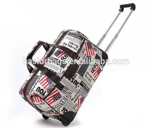 Big size folding travel sport bags wheels