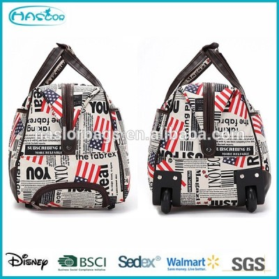 Hot sell duffle bag with wheels from China