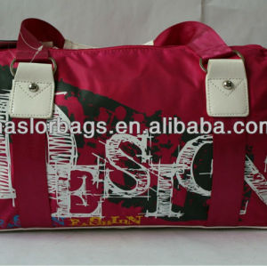 Sports bag women for gym, tote duffle bag