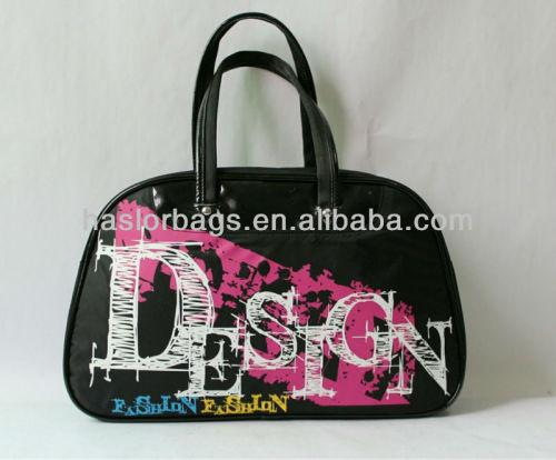 Very Simple Design Black Ladies Fashion Beautiful Handbag