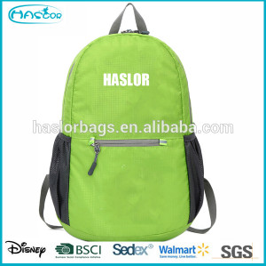 2015 colorful lightweight folding backpack with waterproof material