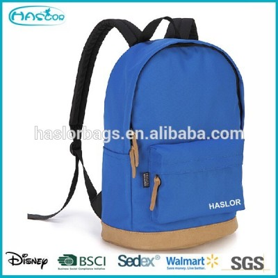 Teenage fashion canvas backpack for college girls