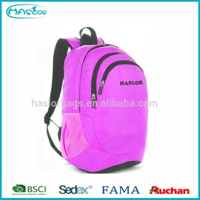 Leisure fashion backpack bags for high school girls 2014