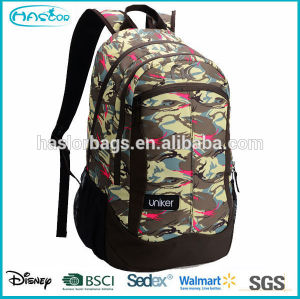Wholeasle custom waterproof strong backpacks bags for students