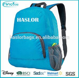 Waterproof light popular foldable backpack from bag manufacturer