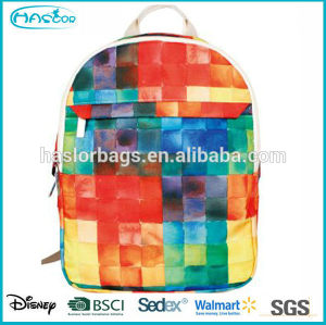 Hot style and best selling colorful punk backpacks for teenagers