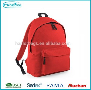 Wholesale used polyester simple fashion school bag backpacks for teenage girls
