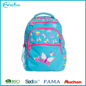 2016 le plus populaire sac d'école pour filles d'école sac à dos