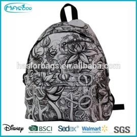 Mode imprimé sac à dos sac pour adolescents de l'école des
