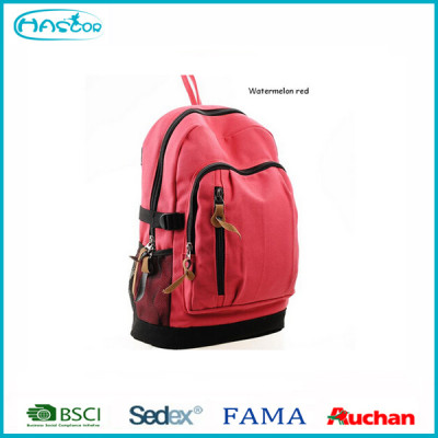 2016 Wholesale Sport Canvas Backpack Preppy School Bag Casual Travel Bags