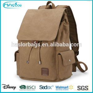 Waterproof and durable canvas custom back pack with high capacity