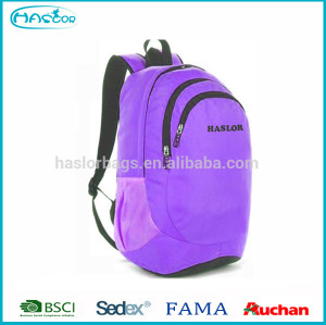 2016 new design fashion sports color day backpack