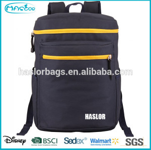 Fashion design large one compartment backpack with china factory