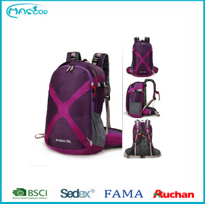 2016 hotsell cheep 40L outdoor backpack with laptop