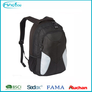 2016 classic black Wholesale good quality laptop Backpack