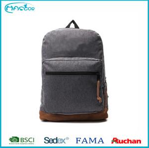 2016 Fashion Basic style Teenage backpack high school backpack